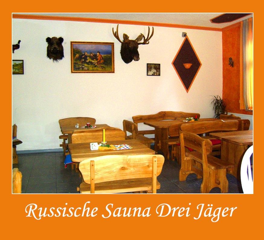 Russische Sauna Drei Jäger Bad Arolsen