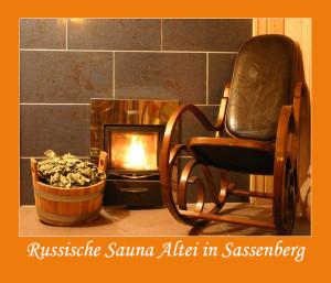 Russische Sauna Altai  Sassenberg